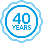 Over 40 years' experience